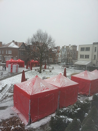 Nieuwjaarsdrink District Berchem 2013